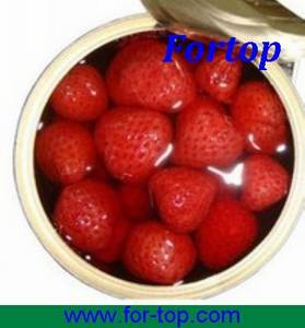 Wholesale canned fruit: Canned Fruit Red Strawberry in Light/Heavy Syrup