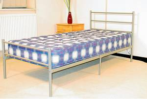 Wholesale metal bed: Metal Single Kids Bed