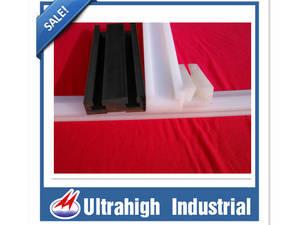 Wholesale guide rail: UHMWPE Plastic Chain Guide Rail Profile Guide rail