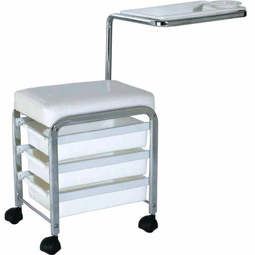Pedicure trolley chair pedicure station nail art equipment for Nail salon equipment and furniture