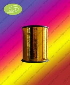 Wholesale Metallic Yarn: M-Tipo Hilado Plano/ Metallic Yarn
