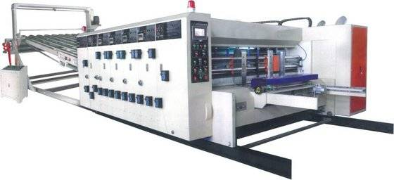 printing ink: Sell high speed water ink printing slotting and die cutting machine