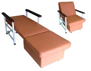 Wholesale hospital bed: BH-9176 Accompany Sofa Bed, Sofa Bed, Recliner Sofa, Hospital Furniture