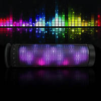 Sell Colorful Chameleon Bluetooth stereo speakers led home theater speaker
