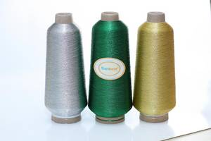 Wholesale embroidery badges: Metallic Embroidery Thread