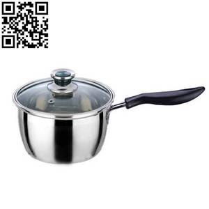 Wholesale Soup & Stock Pots: Stainless Steel MilK Pot ZD-NG086