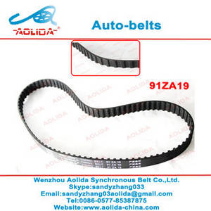Wholesale transmission belt: OEM No.13028-01B00 Auto Spare Parts Belt Car Engine Transmission Rubber Timing Belt 91ZA19 for Nissa
