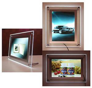 Wholesale Billboards: LED Ultra-thin Crystal Light Box A4