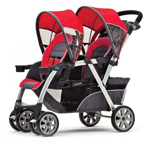 Chicco Cortina Together Double Stroller 6540592 6540652 on jeep car seat stroller