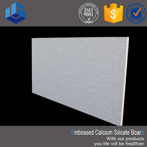 Wholesale remove radioactivity system: Embossed Calcium Silicate Ceiling Board