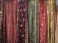 Sell Silk Velvet Curtains