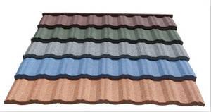 Wholesale fiber cement roof tile: Color Matal Tile