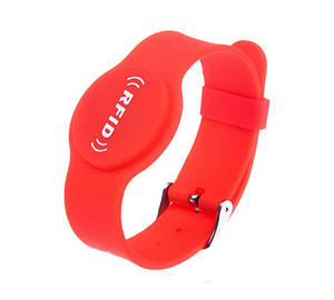 Wholesale silicone watch: Watch Tightener RFID Silicone Wristband