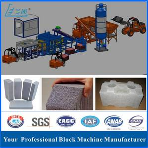 Wholesale brick block 10 hole: Fully Automatic Pavement Cement Concrete Block Making Machine with CE Certificate(QT10-15)
