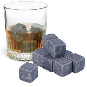 Wholesale pcs: 9pcs Each Set Wiskey Stone for Cooling Wine