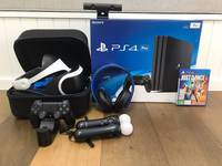 Free Shipping for New PS4 PRO 500GB and 1TB Console Bundle PS4 with 10 Games