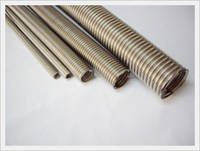 Helical Type of Stainless Steel Corrugated Tubes