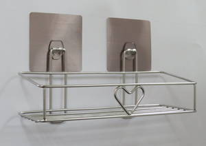Wholesale Bathroom Shelves: Chbk-1201ss Command Hook with Stainless Steel Basket