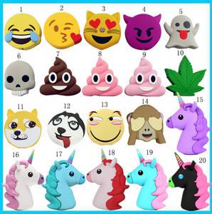 Wholesale cheap phone: Cheap Wholesale 2000Mah Mini Lovely Emoji Mobile Phone Power Bank