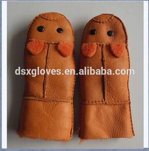Wholesale Leather Gloves & Mittens: Kids Leather Mitten