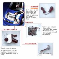 Semi-automatic transmission conversion kit for cars and...
