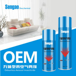 Wholesale Agrochemicals & Pesticides: Odourless Aerosol Insecticide