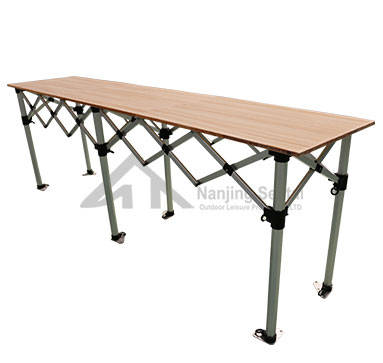 Dining Room Furniture: Sell Folding Table With Aluminum Top