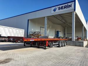 Wholesale bed: Flat Bed Semi Trailer