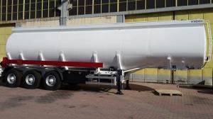 Wholesale semi trailer: Aluminium Fuel Tank Semi Trailer