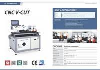 Sell CNC V-cut Machine for Making LED Channel Letter