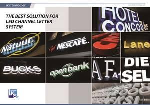 Wholesale Advertising Design: LED Channel Letter
