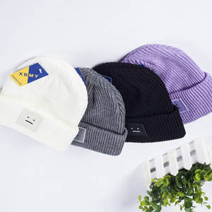 Wholesale winter hat: 2015 Colorful Slouch Knitted Beanie Custom Beanie Hats for Winter Knitted Hat