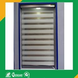 Wholesale high quality sheer curtain: Zebra Roller Blinds Used As Day Night Roller Blinds