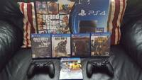 Onys Playstations 4 Ps4s Video Game Player Console Plus 15 Free Games,2 Controlle Buy 2 Get 1 Free