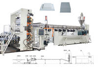 XINXING High Efficiency PP PE Plate Production Line
