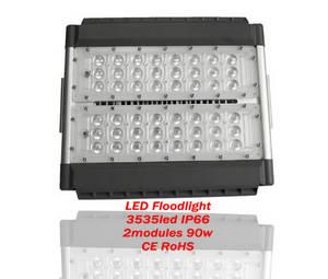 Wholesale led tunnel light: LED Floodlight-tunnel Light 90W IP66 NEW