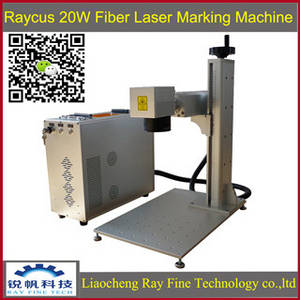 Wholesale i beam standard size in mm.: RAYCUS 20w Portable Fiber Laser Marking Machine for Metal Stainless Steel Cooper BLANCA YAN RAYFINE