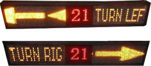 Wholesale busleddisplay: Bus Turn Signal Lights  LED Display Board
