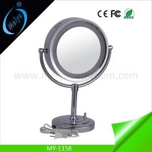 Wholesale makeup mirror: LED Desktop Makeup Mirror, Wedding Table Decoration Mirror with Lights