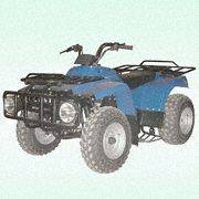 XY250ST Four-Stroke 250CC ATV with Reverse Gear, Running At...