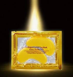 Wholesale mushroom production bags: Gold Collagen Eye Gel Mask for Dark Circle, Bags, Wrinkle