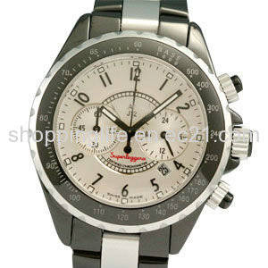 Wholesale mechanical watches: Men Mechanical Watch Ceramic Watches Ladies Watches