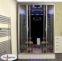 Modern Design 2 Person Glass Steam Shower House