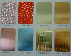 Wholesale gold jewellery: Anodized Aluminum Sheet/Coil