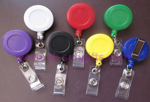 Wholesale Badge Holder & Accessories: Plastic Retractable Badge Reel, Badge Holder