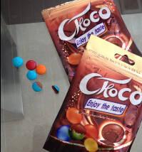 Wholesale crispy: Crispy Candy Coated Chocolate Bean Sweet Confectionary