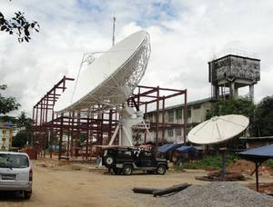 Wholesale earth station antenna: 11.3m Receiving-only Earth Station Satellite Antenna