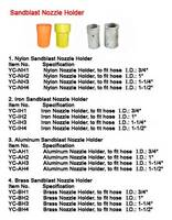 Sandblasting Nozzle Holder Nylon Nozzle Holder Aluminum Nozzle Holder