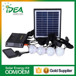 Wholesale home phone: 4000mah 7.4v Lithium Battery Solar Panel Kits for Home Grid System with Mobile Phone Charging
