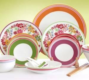 Wholesale dinnerware: Ceramic Handpainted Dinnerware